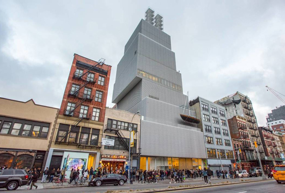 The New Museum in New York. Photo: Julienne Schaer.