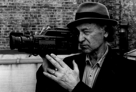 Jonas Mekas. Photo: the Paris Review.