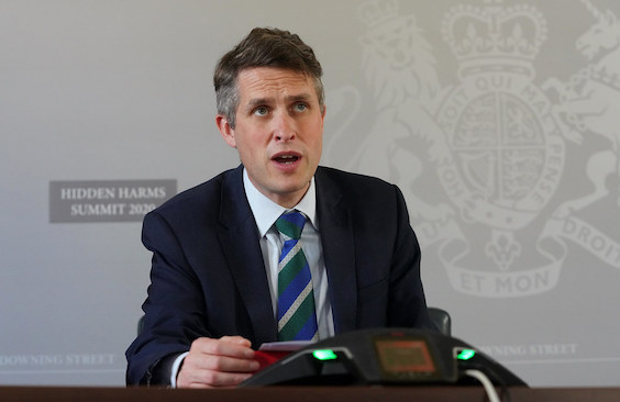Gavin Williiamson, UK's secretary of state for education. Photo: Hidden Harms Summit/Flickr.