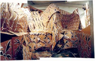 Cardboard Palace (work in progress), 2002.