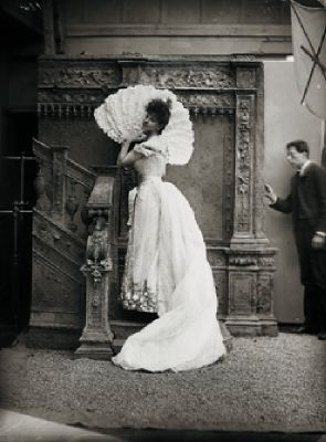 Paul Nadar, Comtesse Greffulhe, 1904, black-and-white photograph.