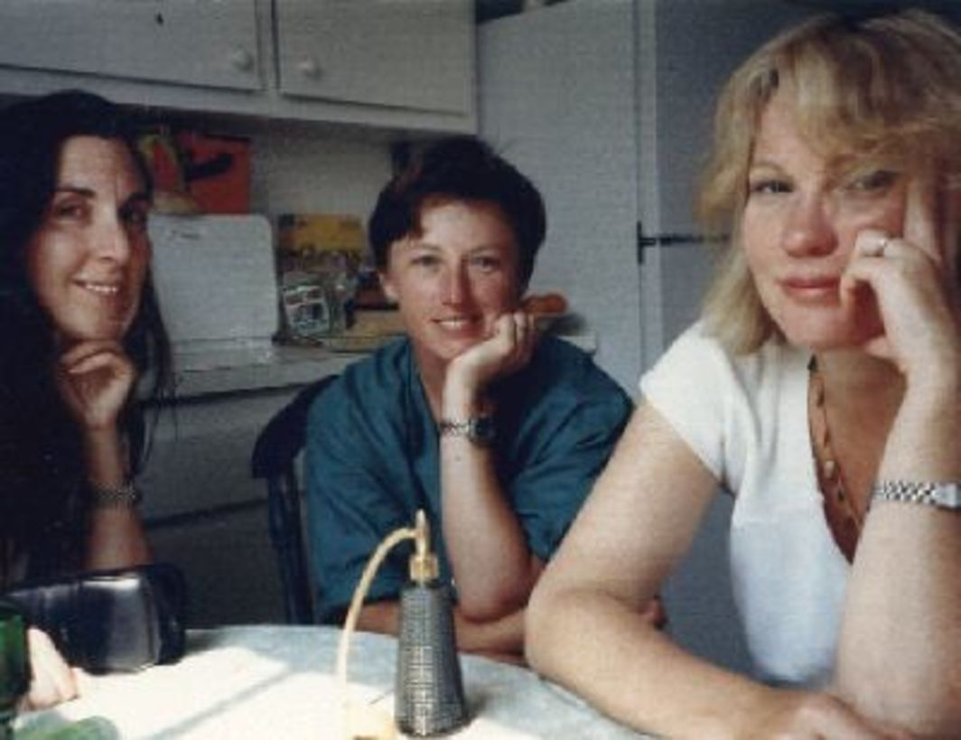 Laurie Simmons, Cindy Sherman, and Sarah Charlesworth, Long Island, mid- to late '80s.