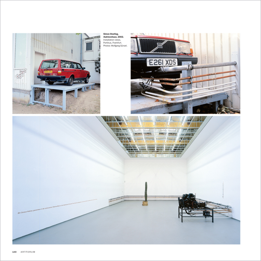 1000 WORDS: SIMON STARLING