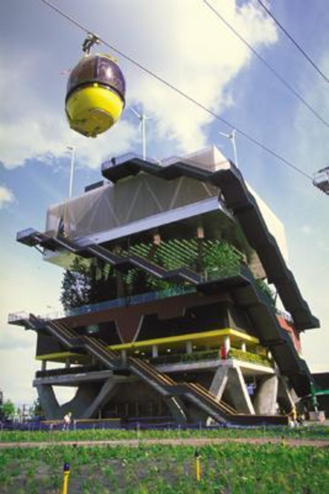MVRDV, Dutch Pavilion for Expo 200, 2000.