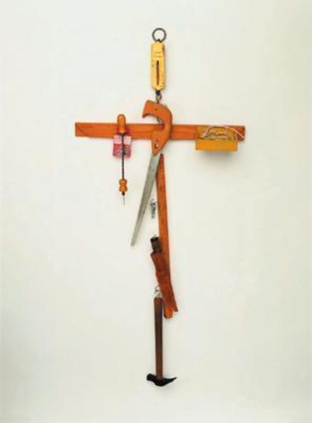 Robert Filliou, Tool Cross, 1969.