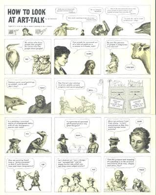 How to Look at Art-Talk, c.1946–1955.