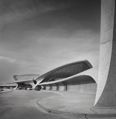 Ezra Stoller, Kennedy Airport,  Queens, NY, 1962.