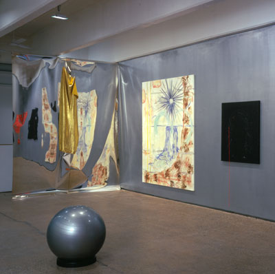 "View of Jutta Koether, ""I Is Had Gone,"" Thomas Erben Gallery, New York, 2005."