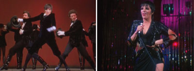 "Bob Fosse, Liza With a ""Z"": A Concert for Television, 1972, stills from a color film, 53 minutes 5 seconds."