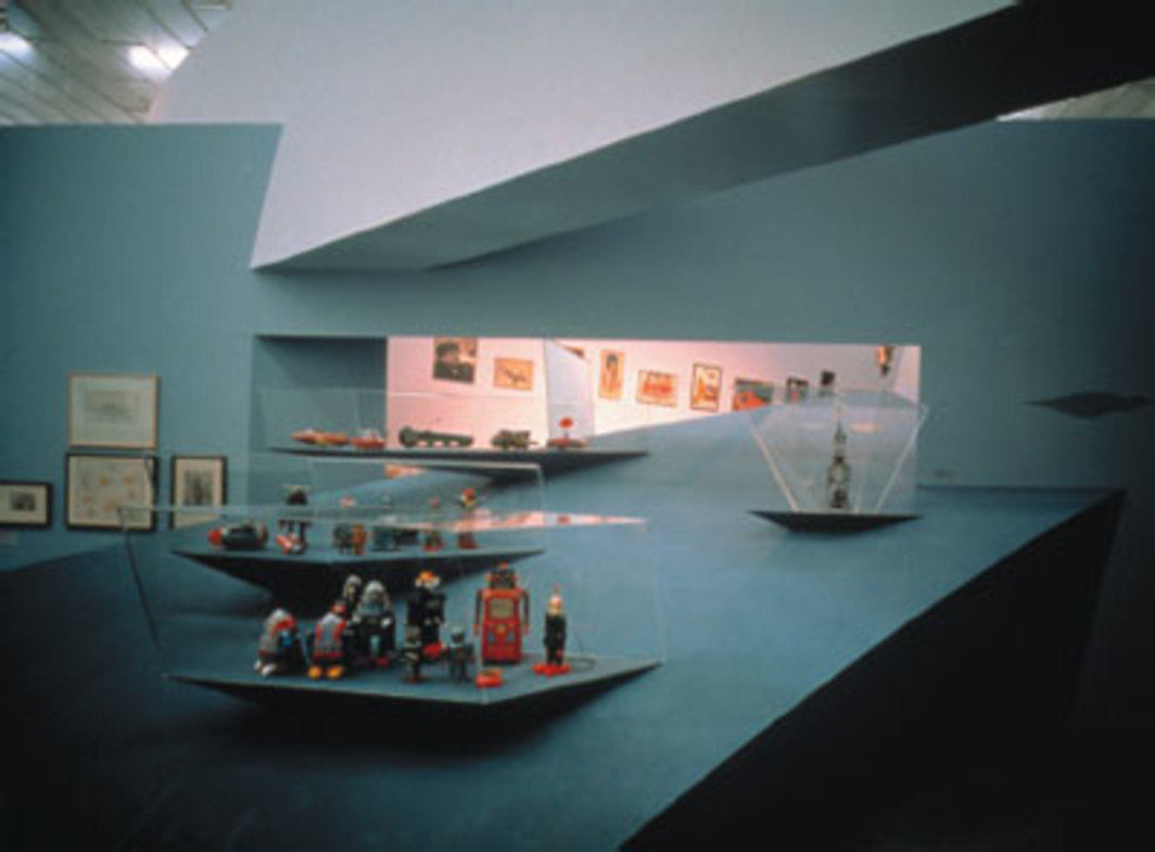 Zaha Hadid, Wish Machine: World Invention, Kunsthalle Wien, 1996. Photo: Zaha Hadid Architects, London.