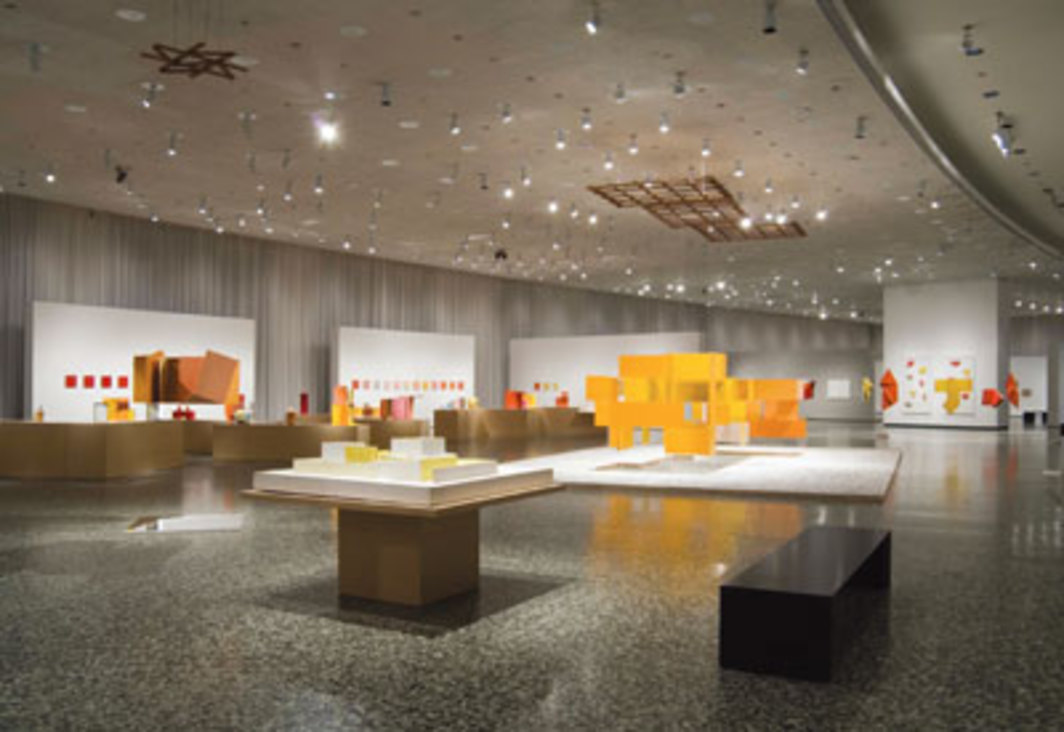 "View of ""Hélio Oiticica: The Body of Color,"" 2007, Museum of Fine Arts, Houston."