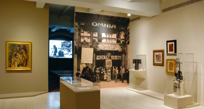 "View of ""Picasso, Braque, and Early Film in Cubism,"" 2007, PaceWildenstein, New York. Photo: Ellen Labenski."