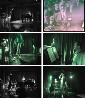 "Francis Alÿs, Politics of Rehearsal, 2007, stills from a black-and-white video, 30 minutes. From ""Think with the Senses, Feel with the Mind: Art in the Present Tense,"" Arsenale."