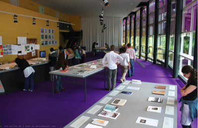Magazines on display in the Documenta Halle, Kassel, June 2007. Photo: Adrian Koss.
