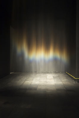 Olafur Eliasson, Beauty, 1993, mixed media, installation view, AROS, Aarhus Kunstmuseum, Aarhus, Denmark, 2004. Photo: Poul Perdersen. © Olafur Eliasson 2007 / Artists Rights Society (ARS), New York, NY / COPY-DAN.
