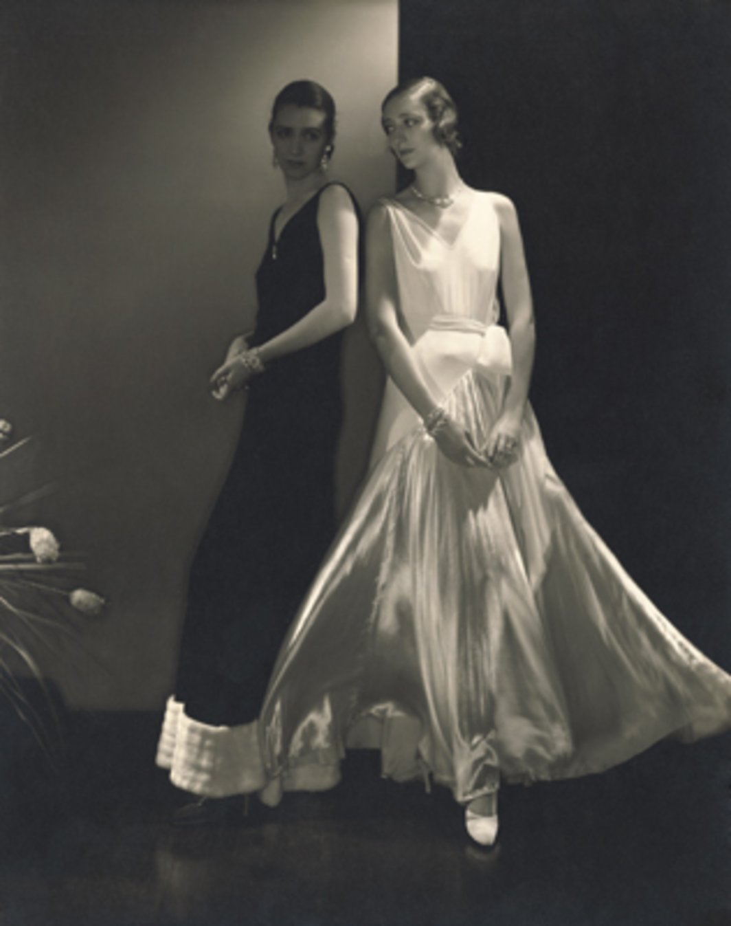 Edward Steichen, Models Wearing Sleeveless Gowns By Vionnet, 1930, black-and-white photograph. © 1930 Condé Nast Archive/Corbis.