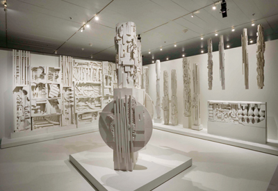 Louise Nevelson, Dawn's Wedding Feast, 1959, painted wood. Installation view, 2007. Photo: David Heald.