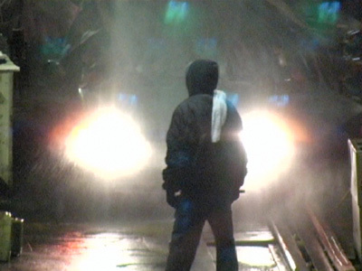 Car Wash, 2006, still from a single-channel color video with sound, 12 minutes.