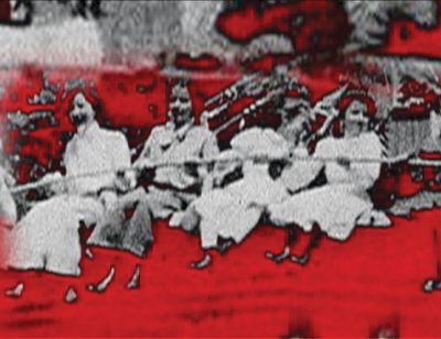 Ken Jacobs, Razzle Dazzle: The Lost World, 2006–2007, still from a color video, 92 minutes.
