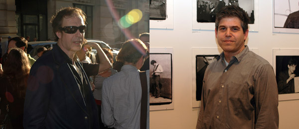 Left: Musician Jim Sclavunos. Right: Dealer Kerry Schuss. (Photos: David Velasco)