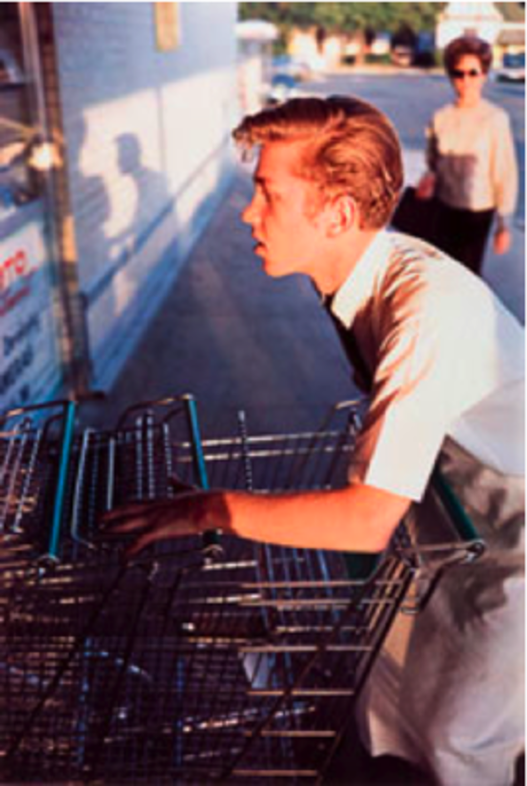 "William Eggleston, Untitled, color photograph, 12 x 17 3/4"". From the series ""Los Alamos,"" 1965–74."