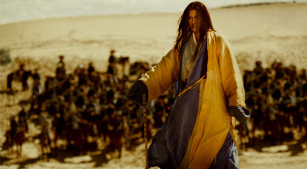 Wong Kar-wai, Ashes of Time Redux, 2008, still from a color film in 35 mm, 93 minutes. Huang Yoshi (Tony Leung Ka Fai).