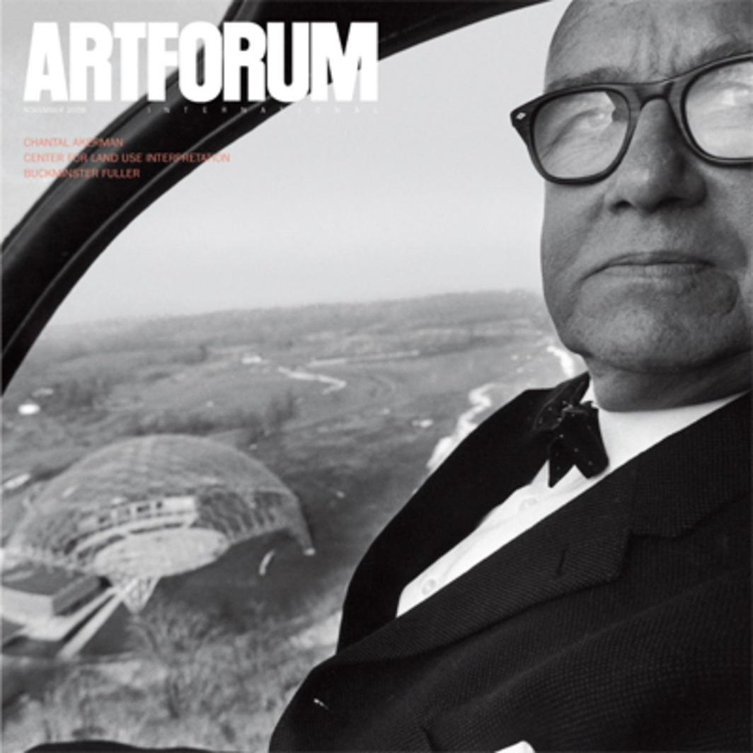 Cover: R. Buckminster Fuller, Geauga County, Ohio, 1959. Photo: Elliott Erwitt/Magnum.