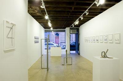"View of ""Jennifer Cohen and Vlatka Horvat,"" 2008."