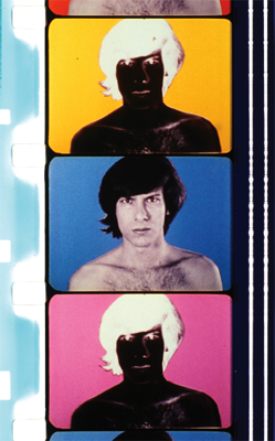 Paul Sharits, T,O,U,C,H,I,N,G, 1968, strip from a color film in 16 mm, 12 minutes.