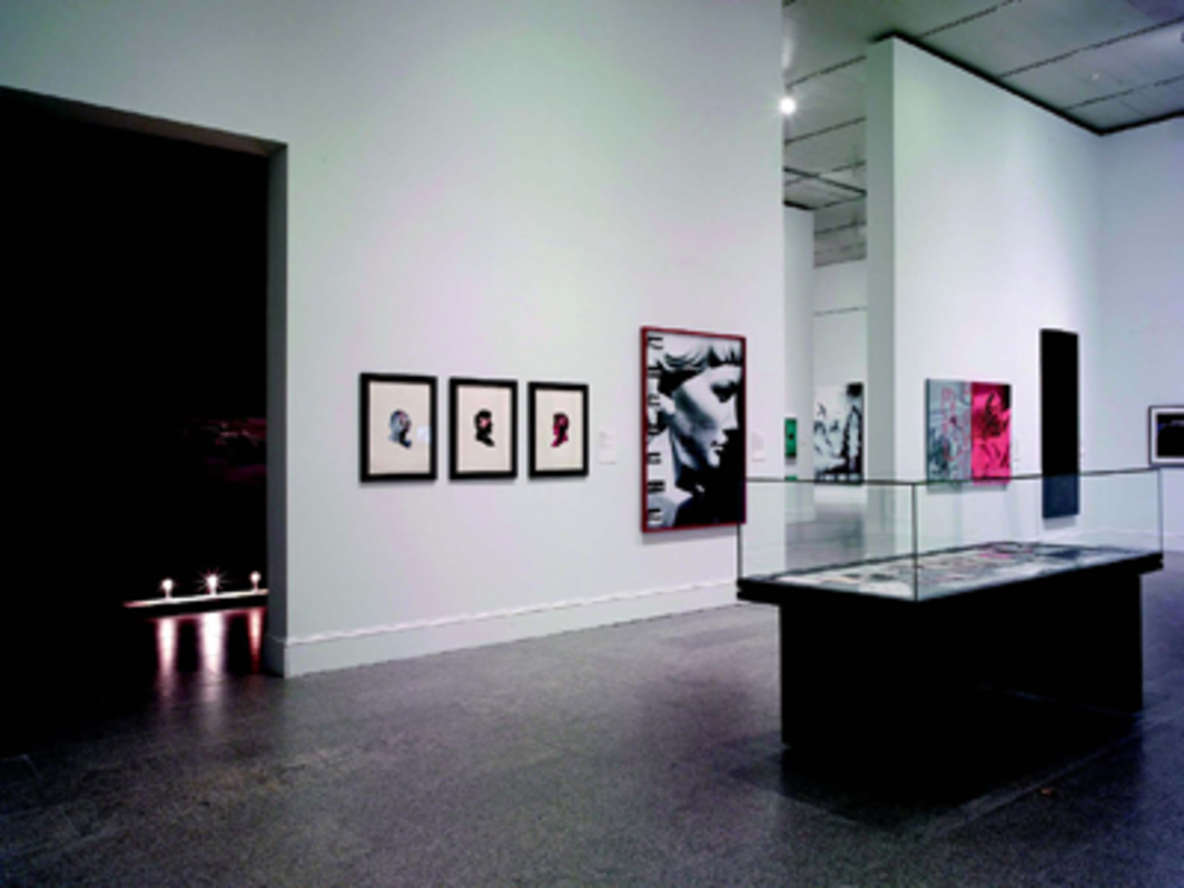 "View of ""The Pictures Generation, 1974–1984,"" 2009, Metropolitan Museum of Art, New York."