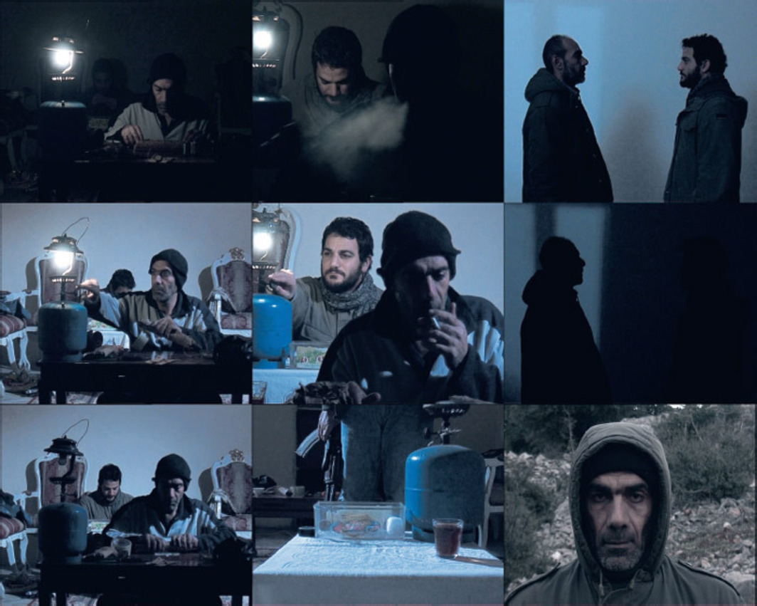 Akram Zaatari, Nature Morte, 2007, stills from a color video, 11 minutes.
