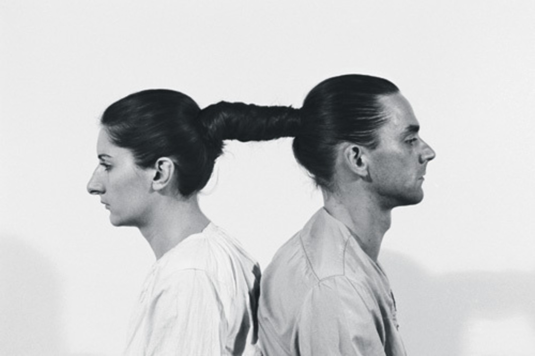 Marina Abramović and Ulay, Relation in Time, 1977. Performance view, Studio G7, Bologna, 1977. Original performance 17 hours. © 2010 Marina Abramović/Artists Rights Society (ARS), New York.
