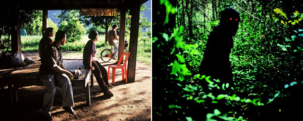Apichatpong Weerasethakul, Uncle Boonmee Who Can Recall His Past Lives, 2010, stills from a color film in 35 mm, 113 minutes.
