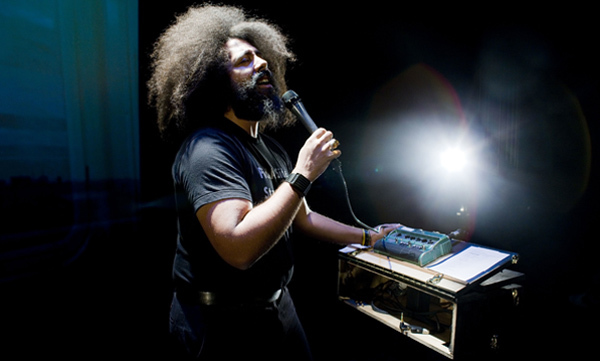 Reggie Watts (Photo: Noah Kalina)