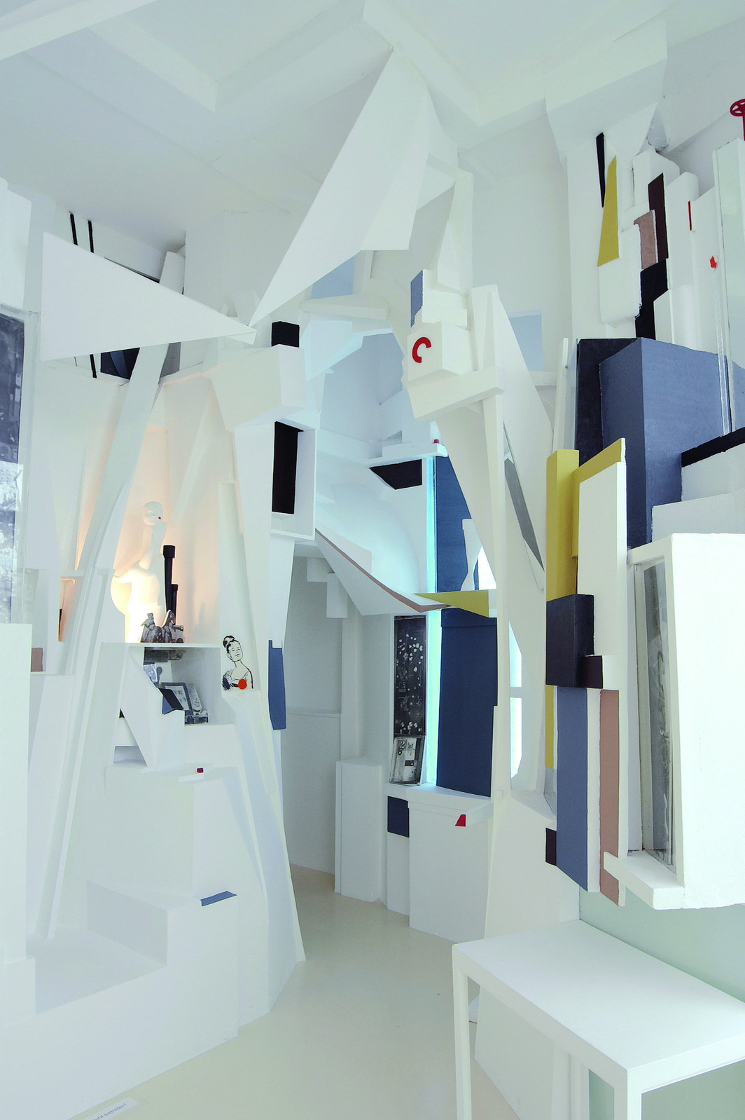 Kurt Schwitters, Merzbau, 1923-48, 12' x 19' x 15'. Reconstruction by Peter Bissegger.