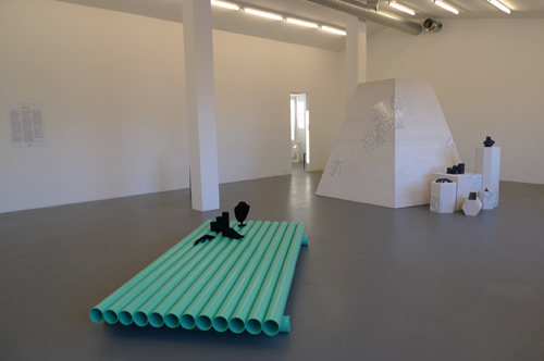 "View of ""Display of Loss—This Play We Lost,"" 2010."