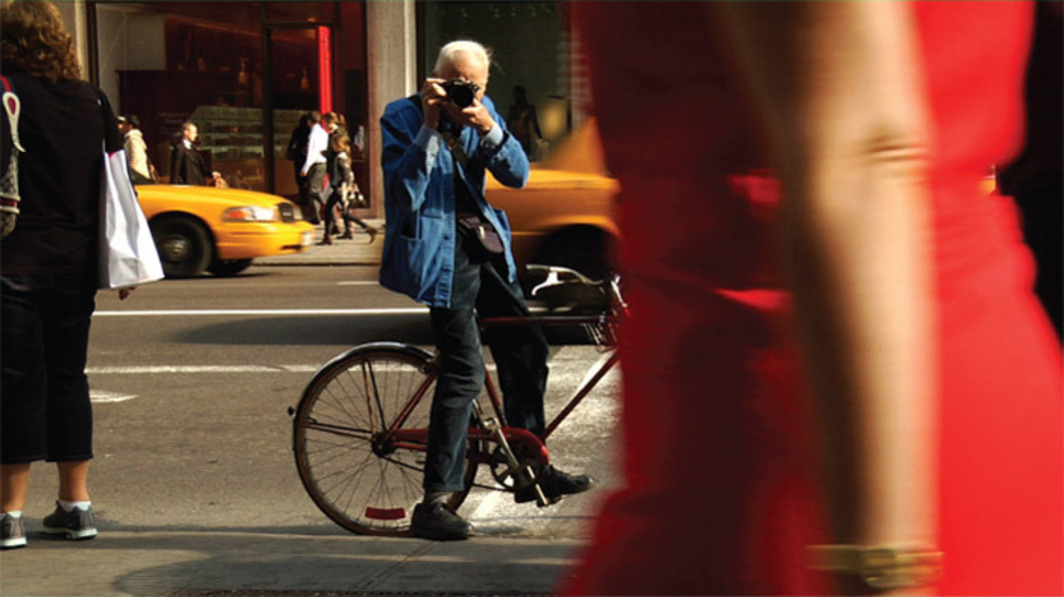 Richard Press, Bill Cunningham New York, 2010, still from a color video, 84 minutes.