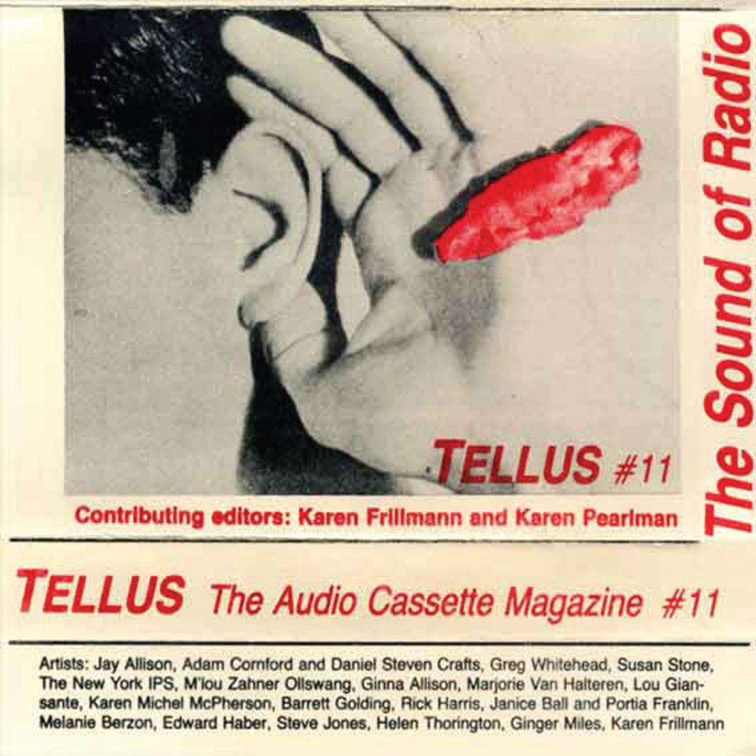 Cover of Tellus: The Audio Cassette Magazine. No. 11