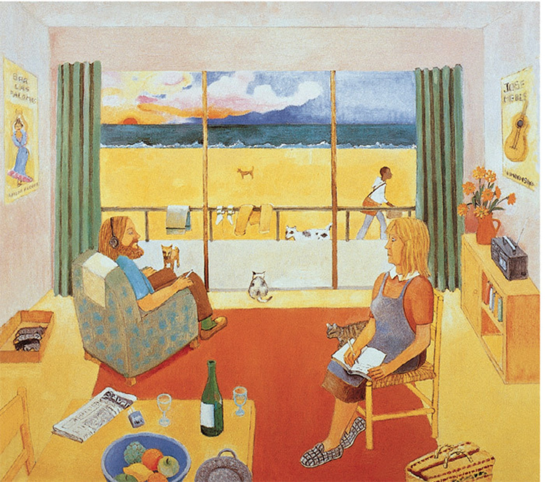Cover of Robert Wyatt's Dondestan (Revisited) (Domino, 1998).