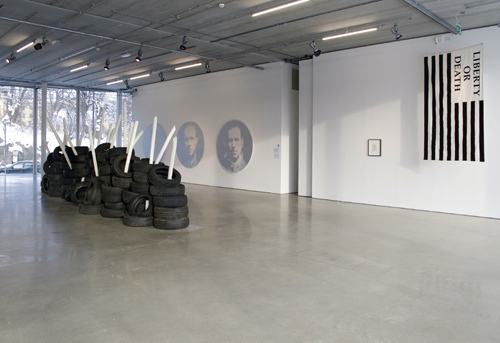 "View of ""Power Has a Fragrance,"" 2011."
