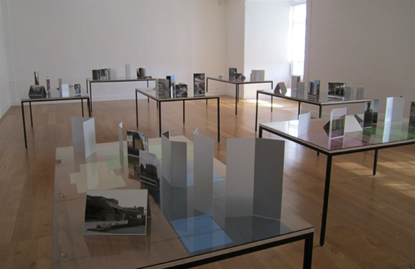 "View of ""Noting Thoughts,"" 2011."