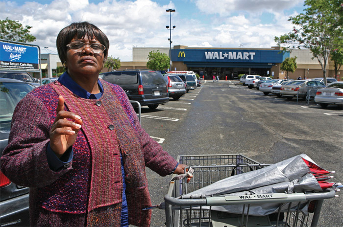 *Former Wal-Mart employee Betty Dukes, the first named plaintiff in _Dukes v. Wal-Mart_, Pittsburg, CA, April 28, 2010.* Photo: AP/Ben Margot.