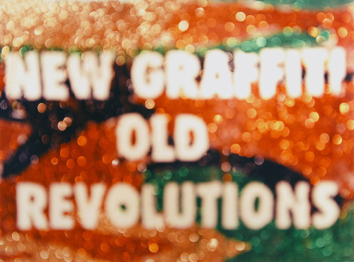 "Jayson Keeling, New Graffiti, Old Revolutions, 2010, color photograph, 30 x 40""."