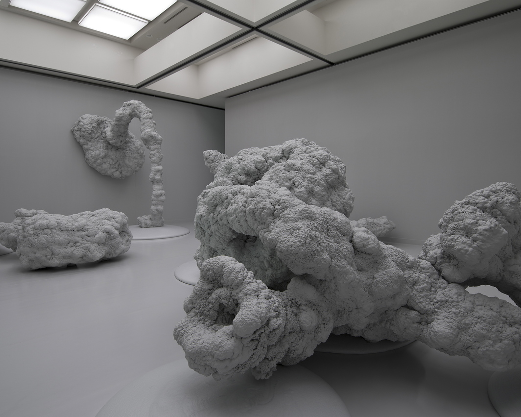 Kohei Nawa, Scum-Apoptosis, 2011, mixed media, dimensions variable.