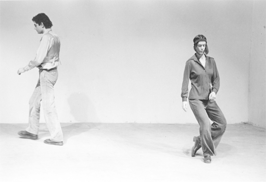 Yvonne Rainer, Trio A, 1973. © Babette Mangolte Courtesy of Broadway 1602, New York.