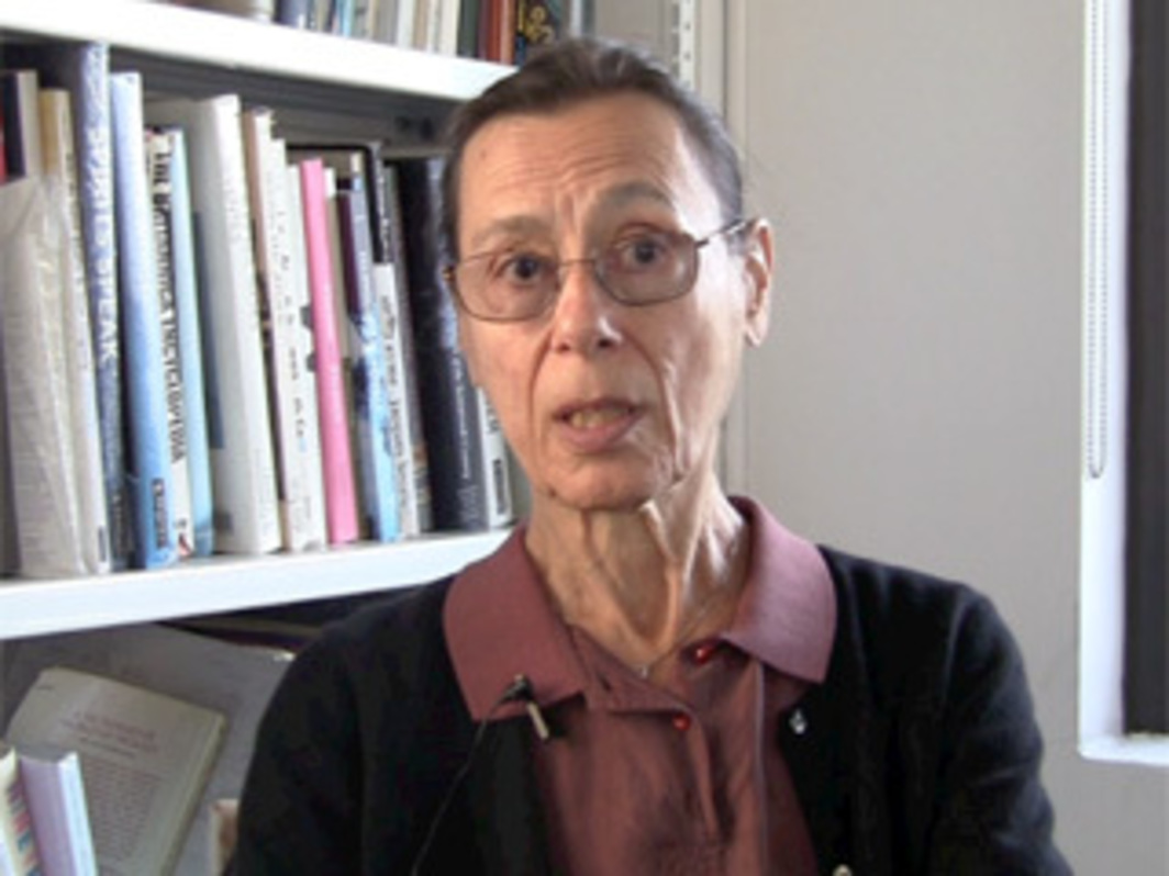 Interview with Yvonne Rainer, 2011