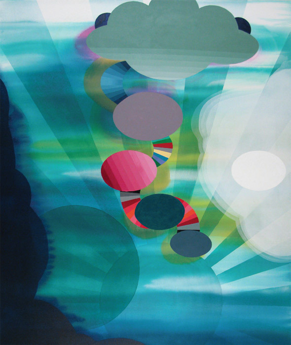 Stephen Mueller, Jacinto, 2010, acrylic on canvas, 60 x 50""
