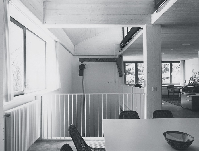 *Interior of Studiolo, Zurich, 2011.*