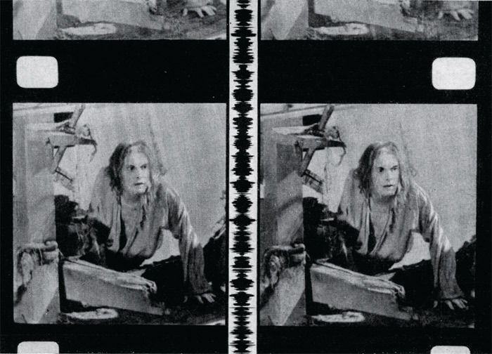 Aleksandr Andriyevsky, Robinzon Kruzo (Robinson Crusoe), 1947, still from a stereoscopic black-and-white film in 35 mm, 85 minutes. Robinzon Kruzo (Pavel Kadochnikov).
