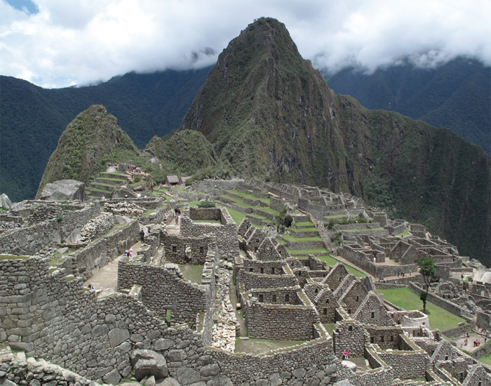 *View of Machu Picchu, Peru, 2009.* Photo: Maya Lin.